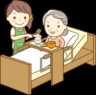 特別養護老人ホーム イラストイメージ